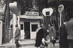 Stand Percevaut - Foire de Paris 1956